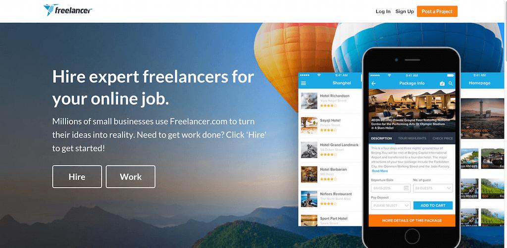 como trabajar freelance en freelancer.com, uno de los mejores sitios de trabajo freelance