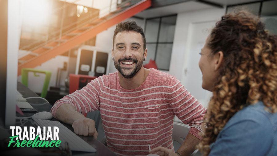 freelancer en un espacio de coworking en mar del plata